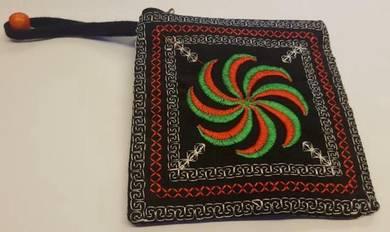 Black coin bag