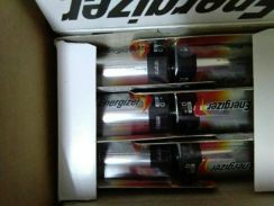 Bateri saiz D. energizer.origanal