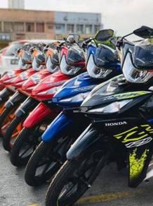 Honda dash 125 !! promosi low dp low monthly