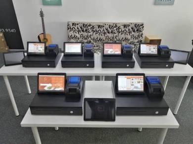Tablet Mesin Cashier POS System Cash Register GMS