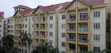 BOOKING Rendah, Loan 100%, Apartment Bukit Beruang Bestari,