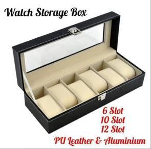 HS Aluminium/PU Leather Watch Storage Box (8)