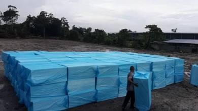 Leveling floor foam fast solid easy flood solution