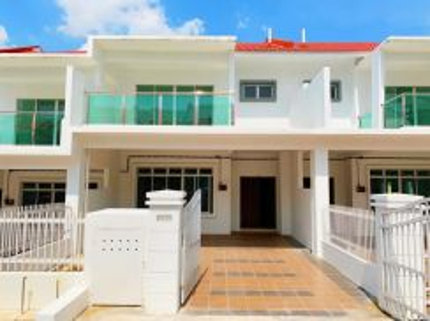 Double Storey House Bandar Seri Alam Megah Ria Masai 1951sqft 22x70