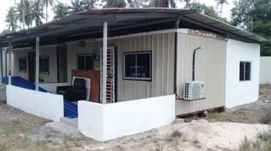 Rumah cabin untuk disewa