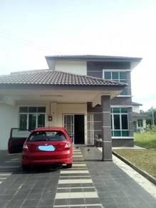 Krubong Perdana 1.5 Storey Bungalow House Melaka Corner Unit