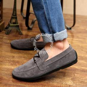 WA0008 CLEARANCE STOCK Grey Loafers Casual Shoes