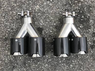 M carbon fiber tail pipe M tail pipe BMW M3 BMW M5