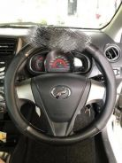 Carbon design steering cover