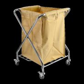 Linen Trolley Foldable Stainless Steel