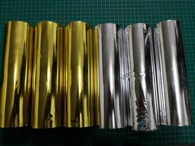 Gold Foil/Hot Stamping Foil/Kertas Emas Stamping