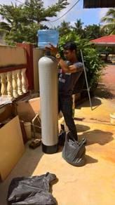 Penapis air fiber luar rumah