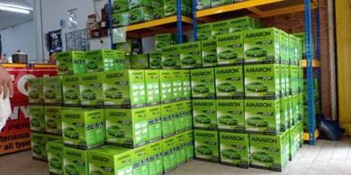 Amaron bateri kereta car battery delivery