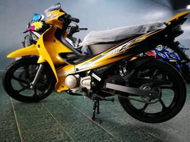 Yamaha 125zr (promosi merdeka on)
