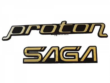 Emblem Tulisan Proton SAGA - BARU