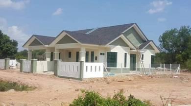 Rumah SEMI D CANTIK HADAPAN PASARAYA GIANT GONG BADAK Kuala Nerus
