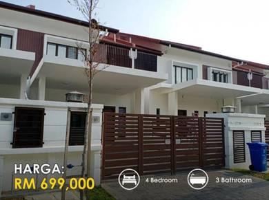 FREEHOLD 2 Storey House in ALAM IMPIAN SHAH ALAM KLANG SUBANG