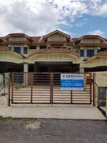 Double storey at lorong bukit ubi for rent