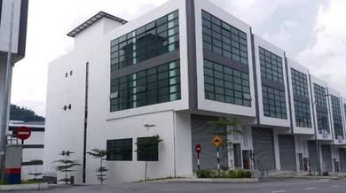 Mivo Industrial Park, Kepong Desa Aman 3.5 storey Link Factory CORNER