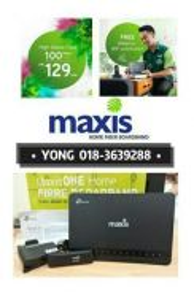 Online register maxis time Internet