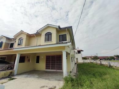 380K for 2 storey corner house, taman Kampar perdana (Fully extended)