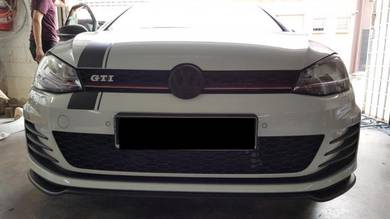 VW GTI MK7 R RIEGER Front Diffuser