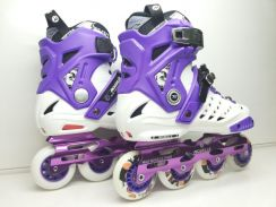 Rollerblade roselle WHITE/Purple berkualiti offer