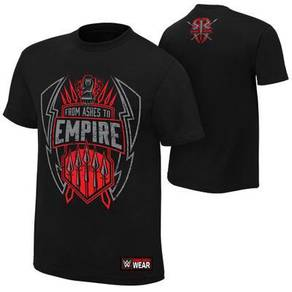 WWE WWF T Shirt Roman Reigns Ashes To Empire 2016