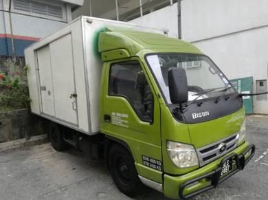 Isuzu bison lorry 2012