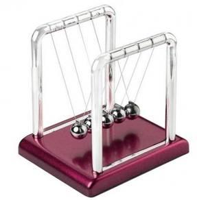 Newtons Pendulum Cradle Steel Balance Balls