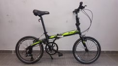 Raleigh bicycle folding ugo 8sp shimano green