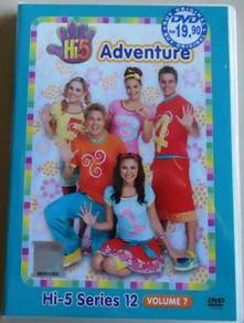 DVD Hi-5 Series 12 Vol.7 Adventure Australia serie