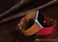 Apple Watch Band Single Buckle Leather Band Strap