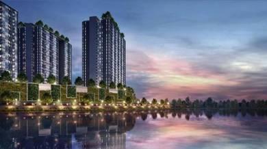 New launch Freehold cyberjaya lakefront condominium