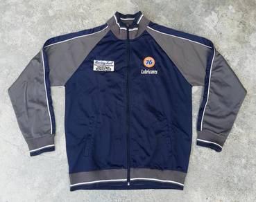 76 LUBRICANTS jacket biru kueii
