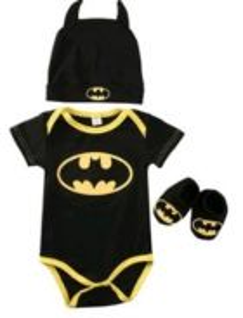 Batman Baby 3 pcs set Sleeve Romper