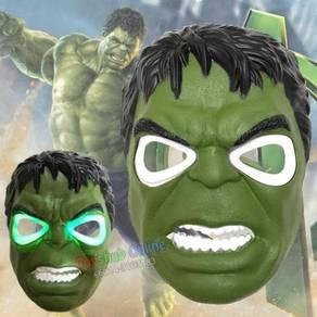Anime Mask with LED - Hulk Green Monster