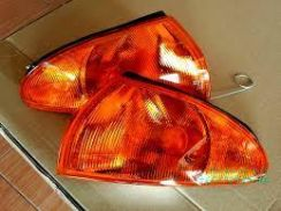 Signal angle lamp lampu wira satria putra oren new