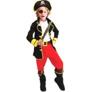 Kids Children Role Pirate King Costume