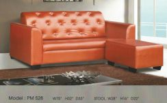 Dimension l-shape sofa-8528