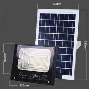 100W Solar Waterproof Flood Light IP67