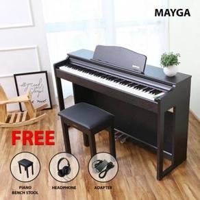 Mayga MP-17 Digital Grand Piano > Black | Hitam