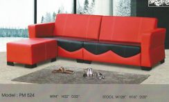Dimension l-shape sofa-8524