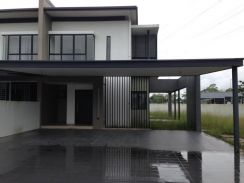 Brand New Double Storey Corner Unit Tabuan Tranqulity (Develper Unit)