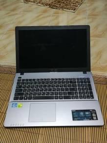 Laptop Gaming Asus X550V - spec tinggi/skrin besar