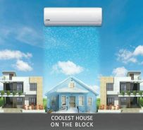 1hp aircond air cond new brand*promotion 699