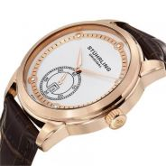 Stuhrling watch Automatic Date Leather