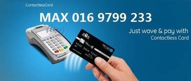 Paypass Credit Card Machine /Kad kredit Mesin Visa