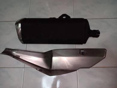 Kawasaki ninja 250/ z250 stock exhaust