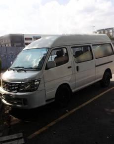 Era Jinbei 2.8 Diesel Hijau 2013 Window Van